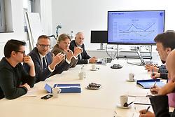 November 20, 2017 - Genk, Belgique - GENK, BELGIUM - NOVEMBER 20 : Filip Aerden financial director of KRC Genk pictured during a press conference of KRC Genk about the financial booking year on November 20, 2017 in Genk, Belgium, 20/11/2017 (Credit Image: © Panoramic via ZUMA Press)