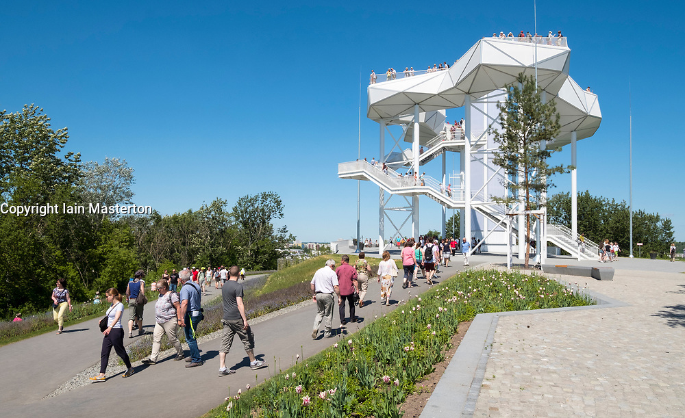 Wolkenhain lookout platform at IFA 2017 International Garden Festival (International Garten Ausstellung) in Berlin, Germany