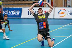 Jannes van der Ham #1 of Orion in action in the supercup semifinal between Draisma Dynamo – Active Living Orion on October, 03 2020 in Van der Knaaphal, Ede