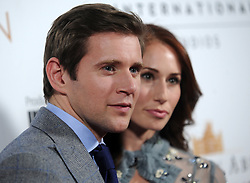 Allen Leech and Jessica Blair Herman attending 'Downton Abbey: The Exhibition' Gala Reception on November 17, 2017 in New York City, NY, USA. Photo by Dennis Van Tine/ABACAPRESS.COM