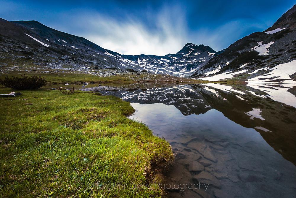 Springtime in the dark mountain