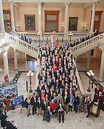 Vietnam Veterans Day in Georgia - A tribute to Georgia Vietnam Medal of Honor Recipients, Atlanta, Georgia - Veterans Group Photo
