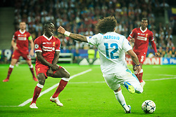 Marcelo of Real Madrid during the UEFA Champions League final football match between Liverpool and Real Madrid at the Olympic Stadium in Kiev, Ukraine on May 26, 2018.Photo by Sandi Fiser / Sportida