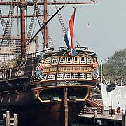 """VOC schip """"Amsterdam"""" in Amsterdam"""