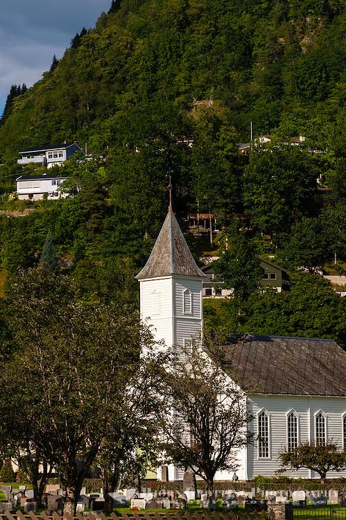 Norway, Øystese. Church.