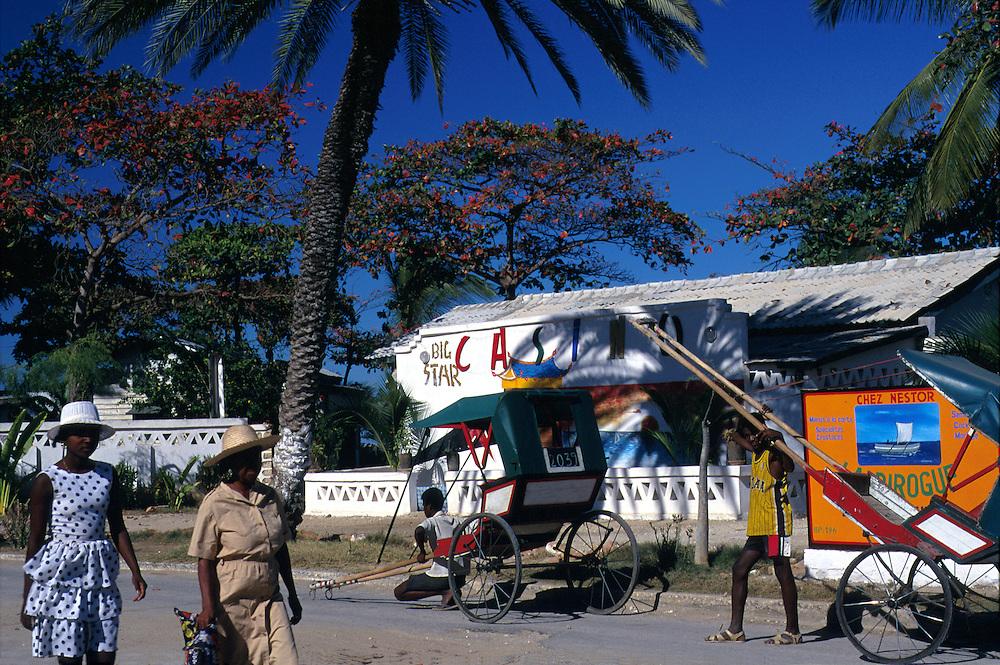 Casino, french colonial resort town of Antsirabe