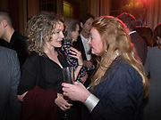 ANNA STOTHARD; AMANDA CRAIG, Literary Review Christmas drinks and  Bad Sex in fiction Awards, In and Out club. St. James's Sq. London. 30 November 2017
