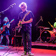 Britta Phillips, Dean Wareham and Lee Wall of Luna perform at the 9:30 Club on their reunion tour.