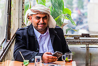 Al-Rasheed Court Cafe (a.k.a. Eco-tourism Cafe), Downtown Amman, Jordan.
