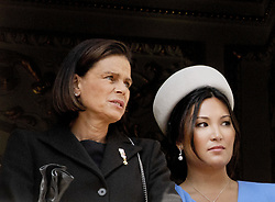 November 19, 2019, Monaco, Monaco: 19-11-2019 Monte Carlo Princess Stephanie of Monaco (L), and Marie Hoa Chevallier during the Monaco national day celebrations in Monaco. (Credit Image: © face to face via ZUMA Press)