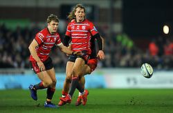 Ollie Thorley of Gloucester Rugby in action - Mandatory by-line: Nizaam Jones/JMP - 22/02/2019 - RUGBY - Kingsholm - Gloucester, England- Gloucester Rugby v Saracens - Gallagher Premiership Rugby