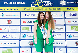Hostess during Stage 1 of 24th Tour of Slovenia 2017 / Tour de Slovenie from Koper to Kocevje (159,4 km) cycling race on June 15, 2017 in Slovenia. Photo by Vid Ponikvar / Sportida
