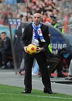 20090117: LISBON, PORTUGAL - SL Benfica vs Belenenses: Portuguese League Cup 2008/2009. In picture: Jaime Pacheco (Belenenses Coach). PHOTO: Alvaro Isidoro/CITYFILES
