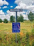 Ściborki, 2018.07.10. Mazurski krajobraz, okolice wsi Ściborki.