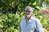 John Cruiswick owner of the St. Rose Nursery which sells a wide variety of tropical plants; La Mode, St. George's, Grenada, West Indies, Caribbean