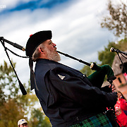 Tullintrain West Pipe Band and Charlie Bowers at 2009 Renaissance Festival