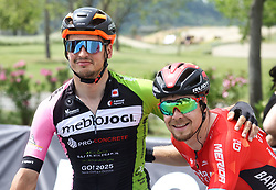 Robi Jenko and Jan Tratnik during Slovenian National Road Cycling Championships 2021, on June 20, 2021 in Koper / Capodistria, Slovenia. Photo by Vid Ponikvar / Sportida