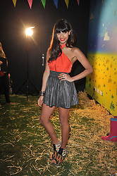 JAMEELA JAMIL at a party to celebrate the global launch of the Iconic Brazilian lifestyle brand Havaianas Wellies range held at Selfridges, Oxford Street, London on 14th April 2011.