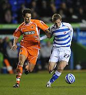 Reading v Blackpool 091208