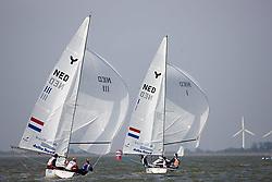 08_002727 © Sander van der Borch. Medemblik - The Netherlands,  May 24th 2008 . Day 4 of the Delta Lloyd Regatta 2008.