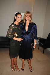 Left to right, TV presenters KIRSTY GALLAGHER and GABBY LOGAN at an evening with racing driver Lewis Hamilton held at The Hempel Hotel, 31-35 Craven Hill Gardens, London W2 on 4th July 2007.<br /><br />NON EXCLUSIVE - WORLD RIGHTS