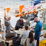 14.06.2018.             <br /> Limerick Food Group hosted the Urban Food Fest street food evening in the Milk Market on Thursday June 14th with a 'Summer Fiesta' theme in one big Limerick city summer party.<br /> <br /> . Picture: Alan Place