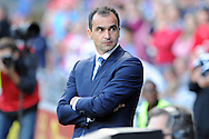 Everton manager Roberto Martinez. Barclays Premier league, Cardiff city v Everton at the Cardiff city Stadium in Cardiff,  South Wales on Saturday 31st August 2013. pic by Andrew Orchard,  Andrew Orchard sports photography,