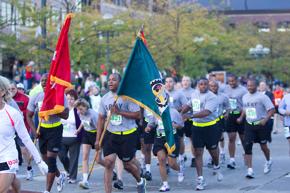 The Army had runners participate in the Quad Cities Marathon 2010.