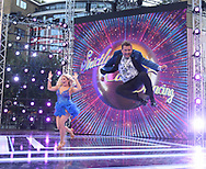 Saffron Barker and Mike Bushell! strictly come dancing