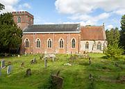 Village parish church of Saint Martin, East Woodhay, Hampshire, England, UK