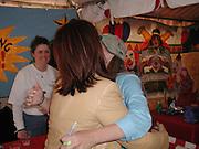 Kelly Ripa, Lorraine Bracco.Kids For Kids Carnival To Benefit The Elizabeth Glaser.Pediatrics AIDS Foudation.Wollman Rink, Central park.New York, NY.April 30, 2001.Photo By CelebrityVibe.com..