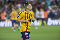 August 13, 2017 - Barcelona, Spain - Gerard Deulofeu during the match between FC Barcelona - Real Madrid, for the first leg of the Spanish Supercup, held at Camp Nou Stadium on 13th August 2017 in Barcelona, Spain. (Credit: Urbanandsport / NurPhoto) (Credit Image: © Urbanandsport/NurPhoto via ZUMA Press)