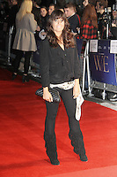 Claudia Winkleman W.E. premiere at the The 55th BFI London Film Festival; Empire Cinema, Leicester Square, London, UK. 23 October 2011.  Contact: Rich@Piqtured.com +44(0)7941 079620 (Picture by Richard Goldschmidt)