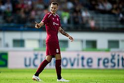 Marko Gajic of Triglav during football match between NK Triglav Kranj and NK Maribor in Round #7 of Prva liga Telekom Slovenije 2018/19, on September 2, 2018 in Kranj, Slovenia. Photo by Vid Ponikvar / Sportida