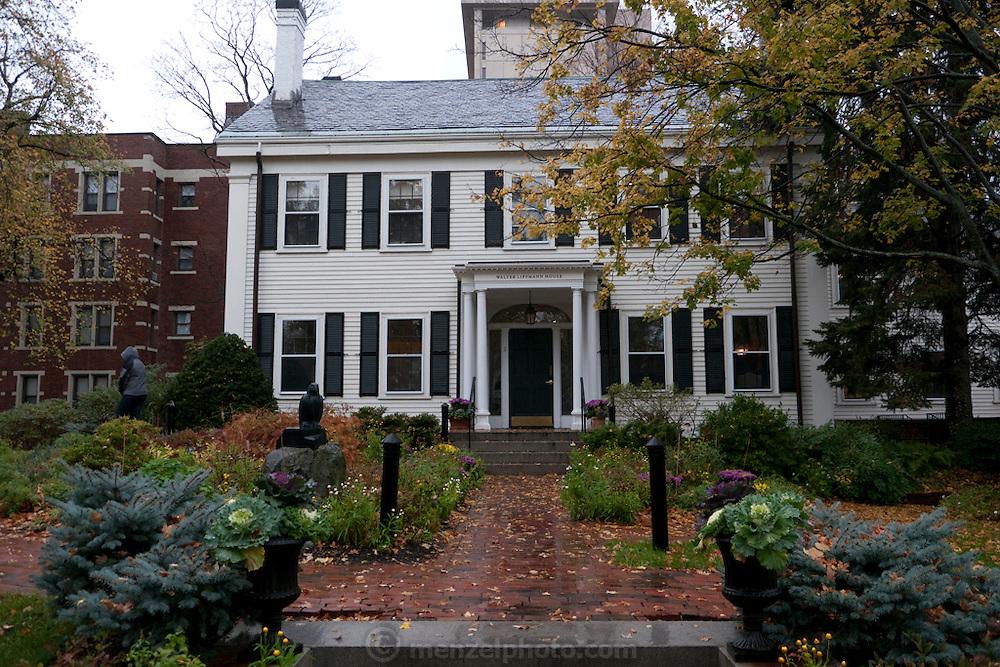 Nieman Foundation house at Harvard University, Cambridge, MA