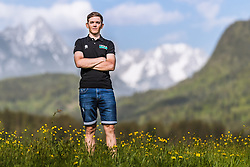 25.04.2018, Bad Häring, AUT, Gregor Mühlberger im Portrait, im Bild der Österreichische Radfahrer Gregor Mühlberger während eines Fototermins // the Austrian Cyclist Gregor Mühlberger during a Photoshooting in Bad Häring, Austria on 2018/04/25. EXPA Pictures © 2018, PhotoCredit: EXPA/ JFK