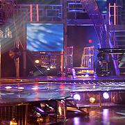 Opname Idols, podium, studio