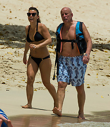 EXCLUSIVE: Coleen Rooney and family are spotted on the beach in Barbados. 24 May 2017 Pictured: Coleen Rooney. Photo credit: Chris Brandis-Islandpaps.com/MEGA TheMegaAgency.com +1 888 505 6342