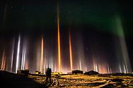 Light pillar phenomen. March 21