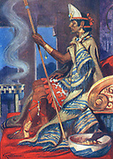 Montezuma, Aztec Emperor of Mexico.