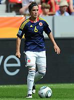Fotball<br /> VM kvinner 2011 Tyskland<br /> 28.06.2011<br /> Sverige v Colombia<br /> Foto: Witters/Digitalsport<br /> NORWAY ONLY<br /> <br /> Daniela Montoya (Kolumbien)<br /> Frauenfussball WM 2011 in Deutschland, Kolumbien - Schweden 0:1