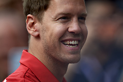 May 11, 2019 - Barcelona, Spain - Sebastian Vettel of Germany driving the (5) Scuderia Ferrari Mission Winnow SF90 during qualifying for the F1 Grand Prix of Spain at Circuit de Barcelona-Catalunya on May 11, 2019 in Barcelona, Spain. (Credit Image: © Jose Breton/NurPhoto via ZUMA Press)