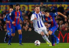 Barcelona: FC Barcelona Vs Real Sociedad - 27 Jan 2017