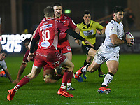 Rugby Union - 2019 / 2020 European Rugby Challenge Cup - Pool Two: Scarlets vs. Toulon<br /> <br /> , at Parc y Scarlets, Llanelli.<br /> <br /> COLORSPORT/WINSTON BYNORTH