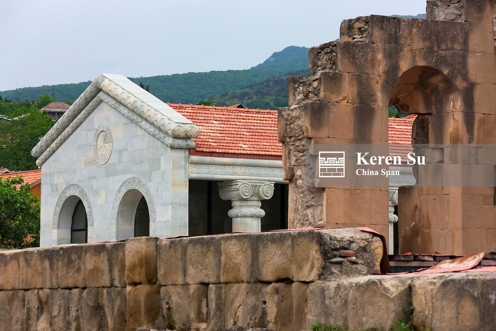 Svetitskhoveli Church, Historical Monuments of Mtskheta, UNESCO World Heritage site, Georgia