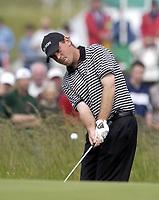 Golf. Open Golf Championships. Muirfield. Dag 1. 18.07.2002.<br /> Thomas Bjørn, Danmark.<br /> Foto: Matthew Impey, Digitalsport