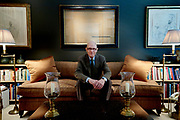 Bill Jordan poses for a portrait at his home in Dallas, Texas on August 9, 2017. (Cooper Neill for The New York Times)