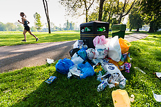 2018-05-08 - SWNS - Park clean-up