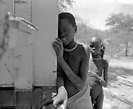 Karamoja, Uganda , Africa. - Karamajong children