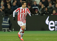 Football - 2016 / 2017 Premier League - West Ham United vs. Stoke City<br /> <br /> Bojan Krkic of Stoke City at The London Stadium.<br /> <br /> COLORSPORT/DANIEL BEARHAM